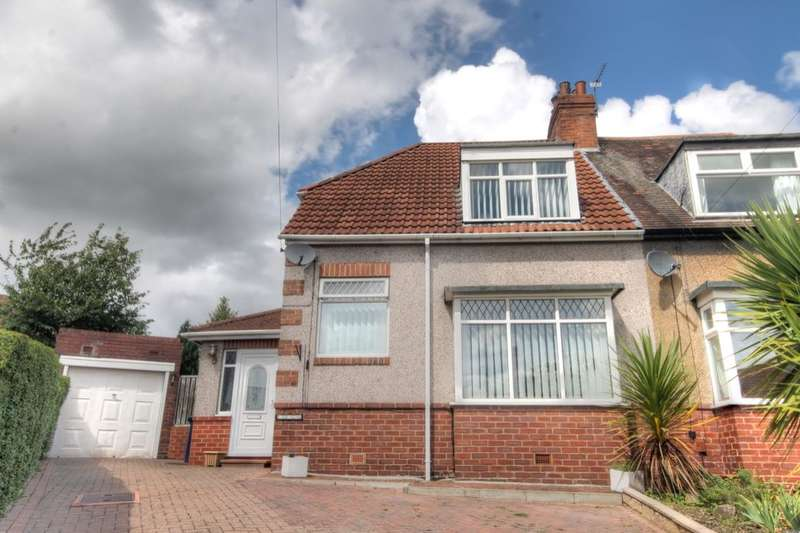2 Bedrooms Semi Detached House for sale in The Close, West Denton, Newcastle Upon Tyne, NE5