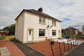 2 Bedrooms Semi Detached House for sale in Elphinstone Crescent, Airth, Falkirk, FK2