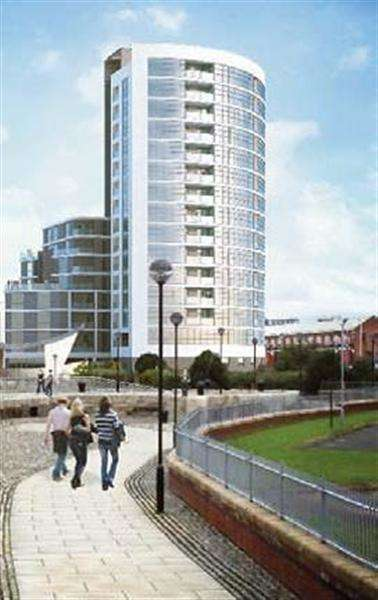 3 Bedrooms Apartment Flat for sale in Bedroom Herculaneum Quay, Riverside Drive, liverpool