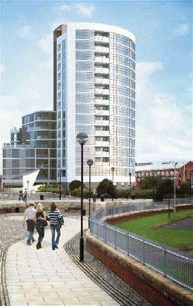 3 Bedrooms Apartment Flat for sale in Bedroom Herculaneum Quay, Riverside Drive, liverpool