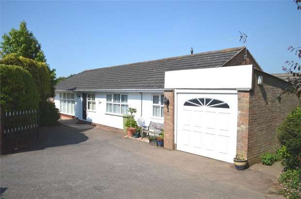 4 Bedrooms Detached Bungalow for sale in Cranford Close, EXMOUTH, Devon