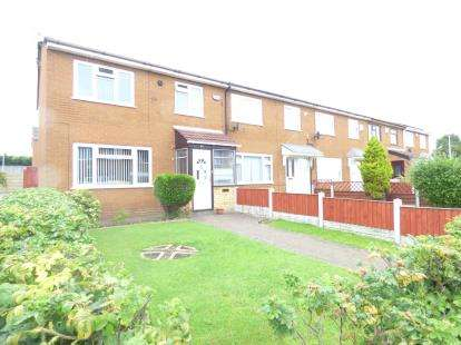 3 Bedrooms End Of Terrace House for sale in Bechers, Hough Green Road, Widnes, Cheshire, WA8