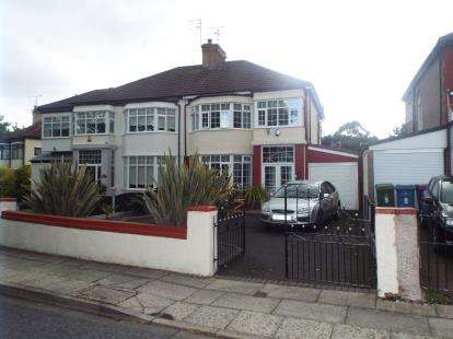 3 Bedrooms Semi Detached House for sale in West Oakhill Park, Liverpool, Merseyside, England, L13