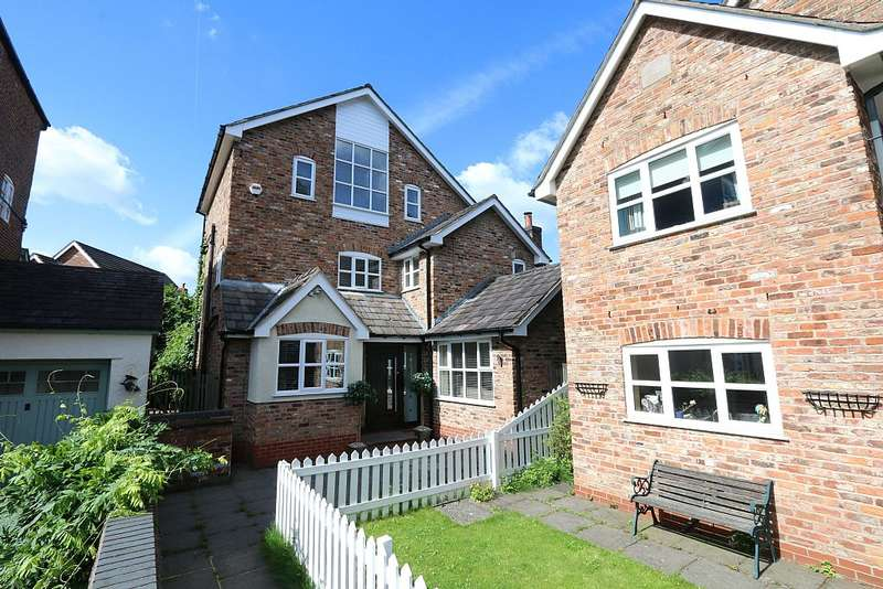 4 Bedrooms Detached House for sale in Hazelhurst Road, Worsley, Manchester, Greater Manchester, M28 2SQ