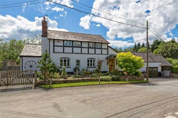 4 Bedrooms Cottage House for sale in The Forge, Orleton Village, Near Ludlow, Herefordshire