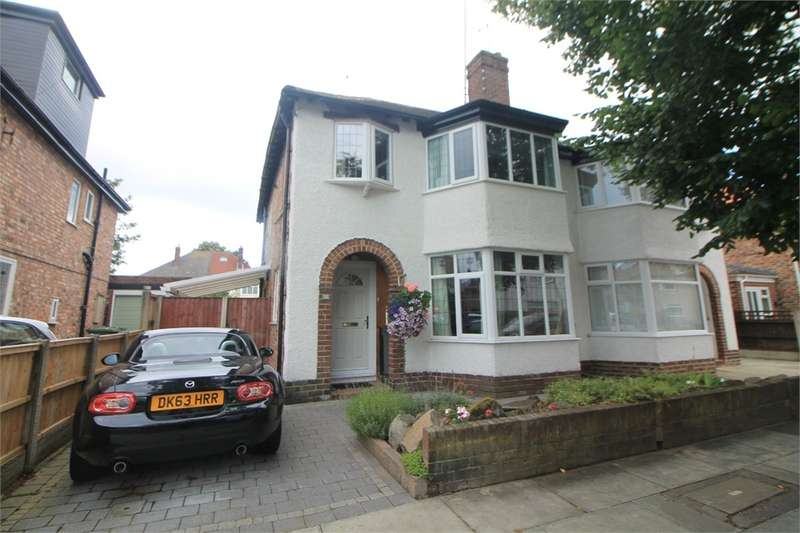 3 Bedrooms Semi Detached House for sale in Moor Drive, Crosby, LIVERPOOL, Merseyside