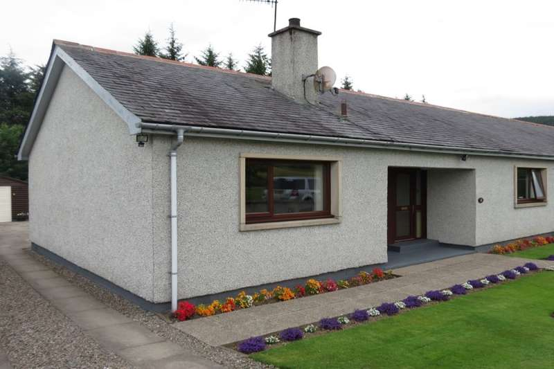 3 Bedrooms Semi Detached Bungalow for sale in Glenallachie Cottages, Glenallachie, Aberlour, AB38