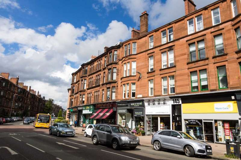 3 Bedrooms Flat for sale in Hyndland Road, Glasgow