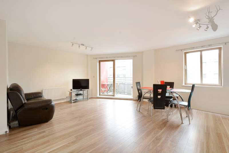 2 Bedrooms Apartment Flat for sale in Christopher Bell Tower, Pancras Way, Bow, E3
