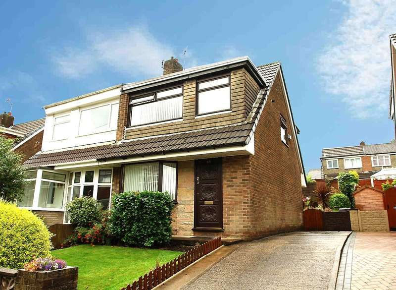 3 Bedrooms Semi Detached House for sale in 65 Rydal Avenue, Chadderton, Oldham