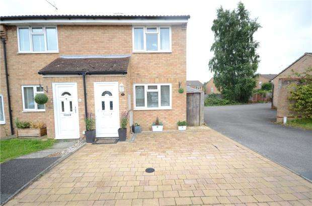 2 Bedrooms End Of Terrace House for sale in Cherrytree Close, Heath Park, Sandhurst