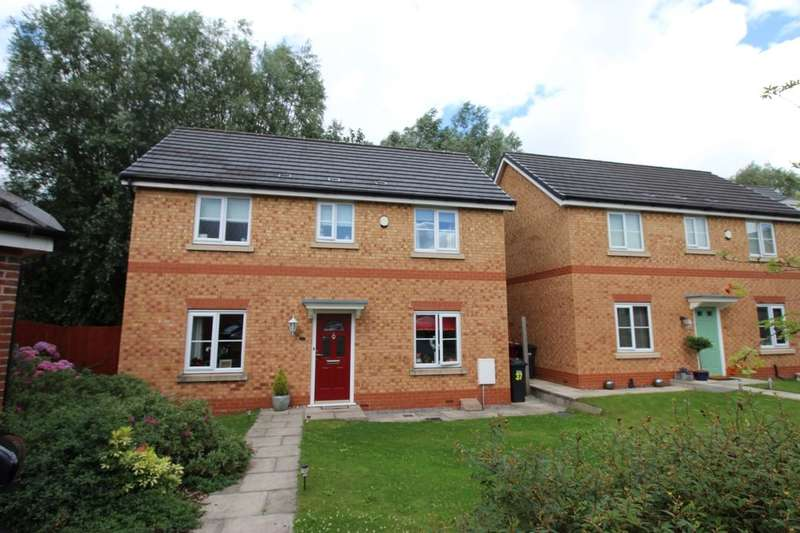 3 Bedrooms Detached House for sale in Harrier Close, Lostock, Bolton, BL6