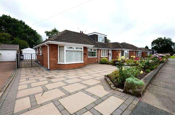 2 Bedrooms Semi Detached Bungalow for sale in Trentley Road, Trentham, Stoke-On-Trent