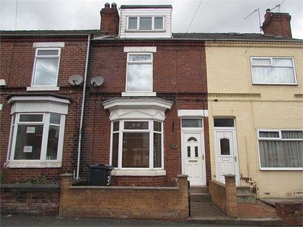 3 Bedrooms Terraced House for sale in Ivanhoe Road, Conisbrough, Doncaster, DN12 3JT