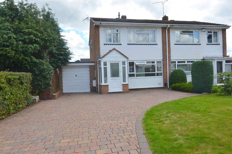3 Bedrooms Semi Detached House for sale in Craftdown Close, Stafford