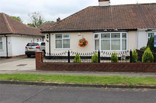 3 Bedrooms Semi Detached Bungalow for sale in Birchgate Road, Middlesbrough, North Yorkshire