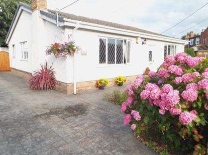 3 Bedrooms Bungalow for sale in New Brighton Road, Sychdyn, Mold, Flintshire, CH7