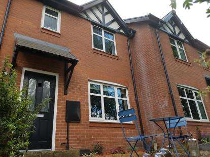 3 Bedrooms Terraced House for sale in Jubilee Way, Broadheath, Altrincham, Greater Manchester
