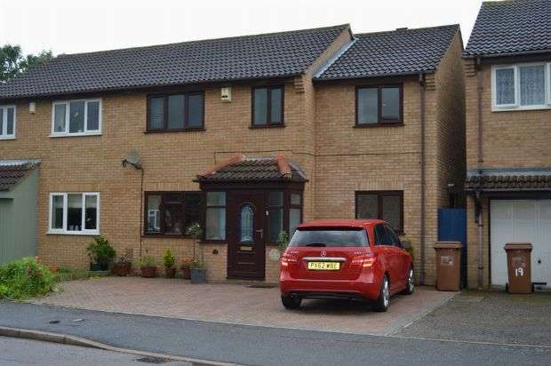 4 Bedrooms Semi Detached House for sale in Firbank Close, Wakes Meadow, Northampton NN3 9UU