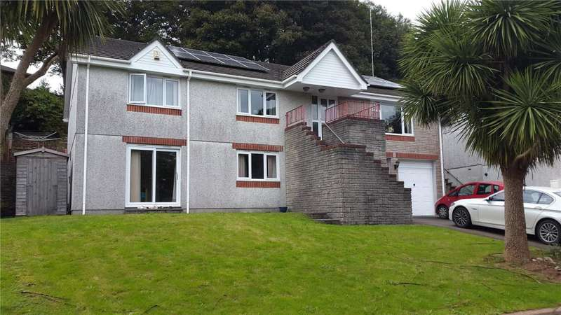 4 Bedrooms Detached House for sale in Gwel An Nans, Liskeard, Cornwall