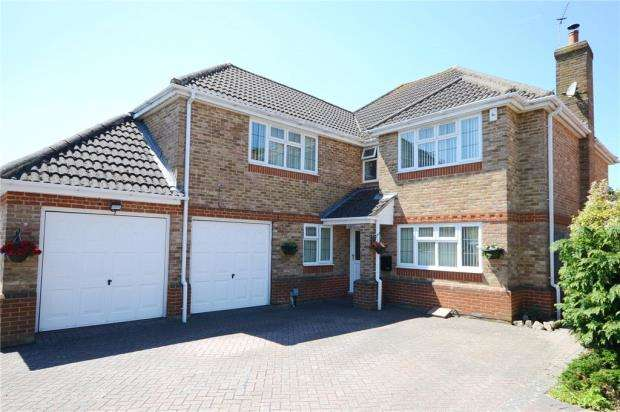 5 Bedrooms Detached House for sale in Bennetts Rise, Aldershot, Hampshire