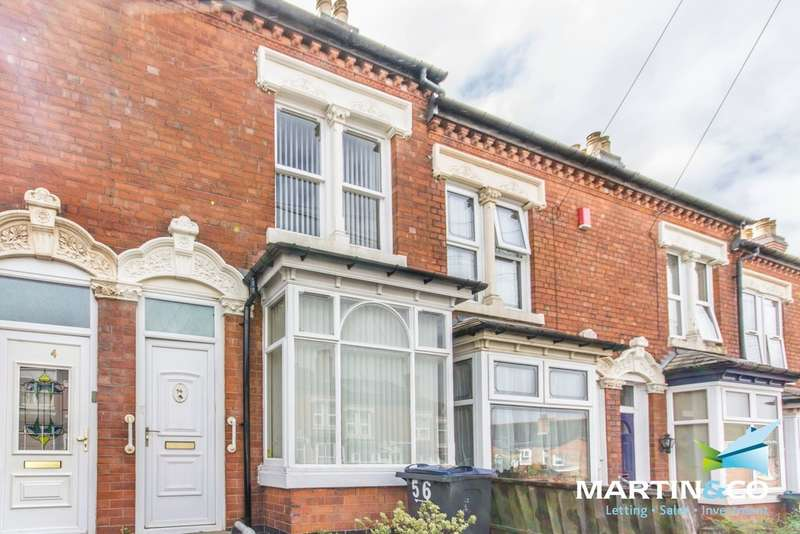 2 Bedrooms Terraced House for sale in Ashbourne Road, Edgbaston, B16
