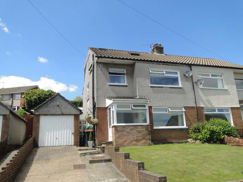 4 Bedrooms Semi Detached House for sale in Garth Close, Bassaleg, Newport, NP10