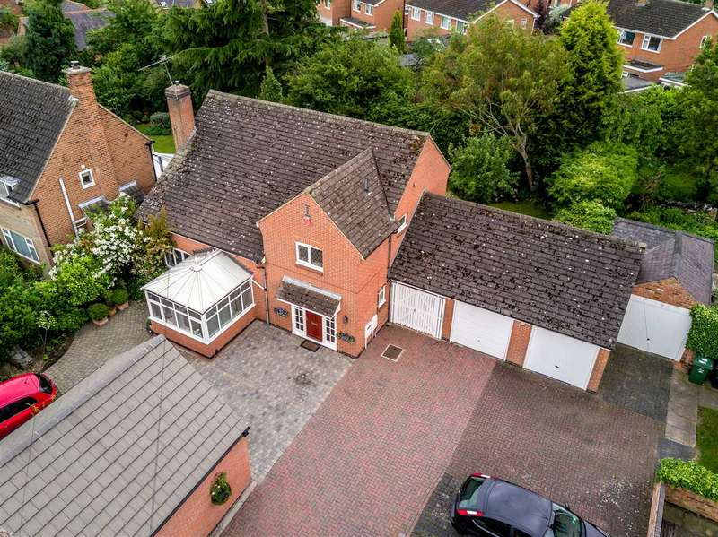 4 Bedrooms Detached House for sale in Bradgate Road, Anstey, Anstey