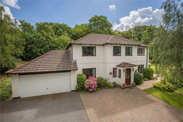 5 Bedrooms Detached House for sale in Bunting Close, Ogwell, Newton Abbot, Devon. TQ12 6BU