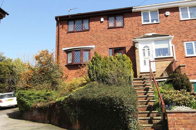 3 Bedrooms Semi Detached House for sale in 9, Coney Walk, Dewsbury, West Yorkshire, WF13 3SS