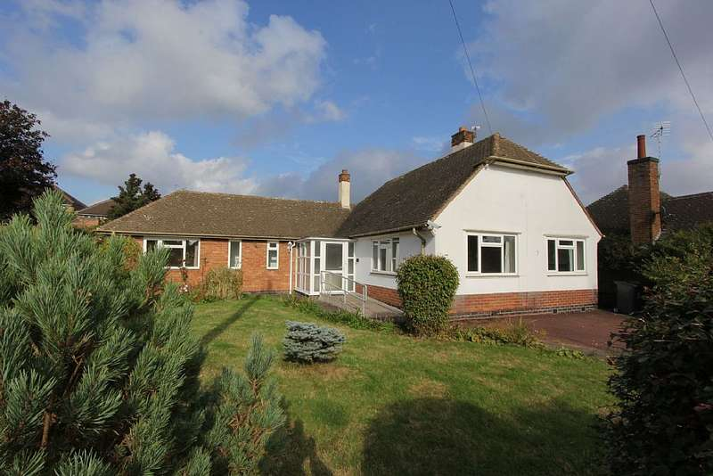 3 Bedrooms Detached Bungalow for sale in Fermain Close, Evington, Leicester, Leicestershire, LE5 6PL