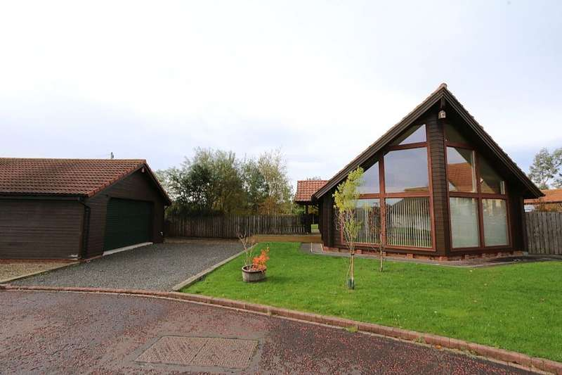 4 Bedrooms Detached House for sale in The Pines, Hadston, Morpeth, Northumberland, NE65