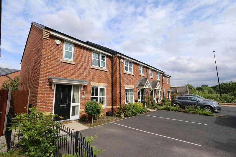 3 Bedrooms End Of Terrace House for sale in 187, Roseway Avenue, Cadishead, Manchester, Greater Manchester, M44
