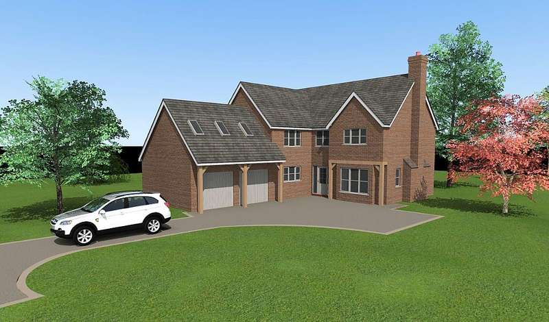 5 Bedrooms Detached House for sale in Plot 3, Shaw Park, Weston Lane, Oswestry, Shropshire, SY11 2BB