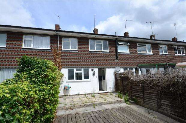 3 Bedrooms Terraced House for sale in Donegal Close, Caversham, Reading