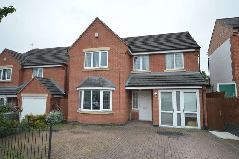 5 Bedrooms Detached House for sale in Cork Lane, Glen Parva, Leicester, LE2