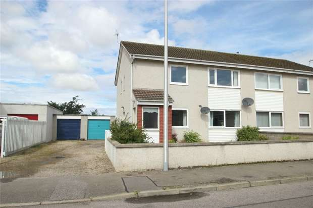 2 Bedrooms Flat for sale in 76 Milnefield Avenue, Elgin, Moray