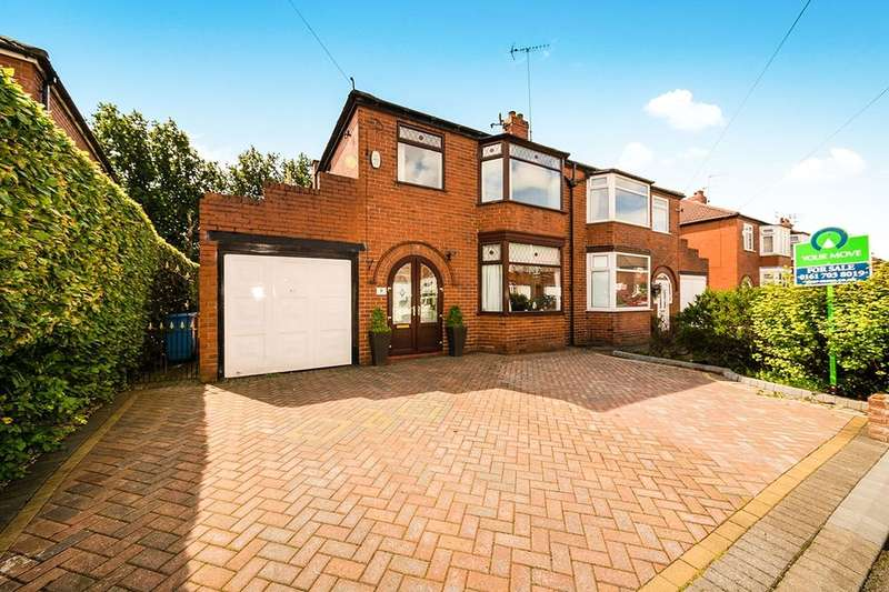 3 Bedrooms Semi Detached House for sale in Kingsway, Worsley, Manchester, M28