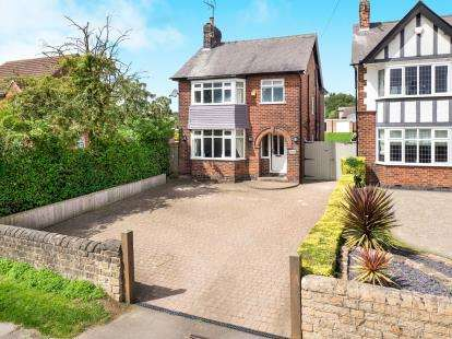 4 Bedrooms Detached House for sale in Watnall Road, Hucknall, Nottingham, Nottinghamshire