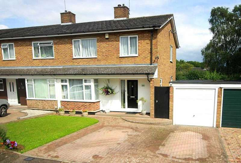 3 Bedrooms Semi Detached House for sale in EXTENDED 3 BED SEMI - OVERLOOKING GREEN - BOXMOOR - HP1