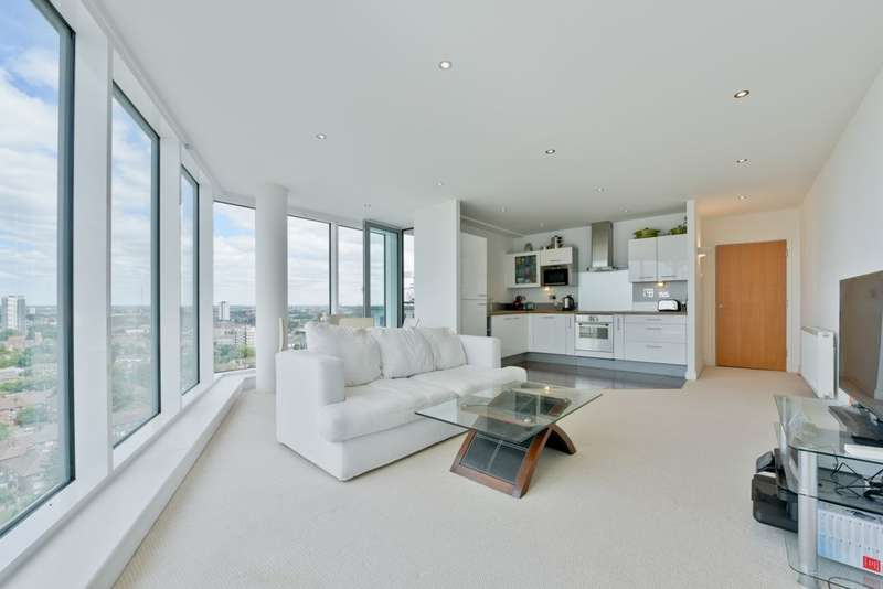 2 Bedrooms Apartment Flat for sale in Alaska Apartments, Western Gateway, Royal Victoria Dock, E16