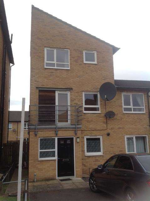 4 Bedrooms Town House for rent in Park Grange Court, Sheffield, S2 3SY