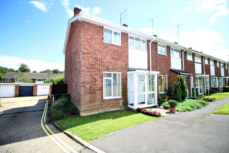 3 Bedrooms Terraced House for sale in Budds Close, Basingstoke, RG21