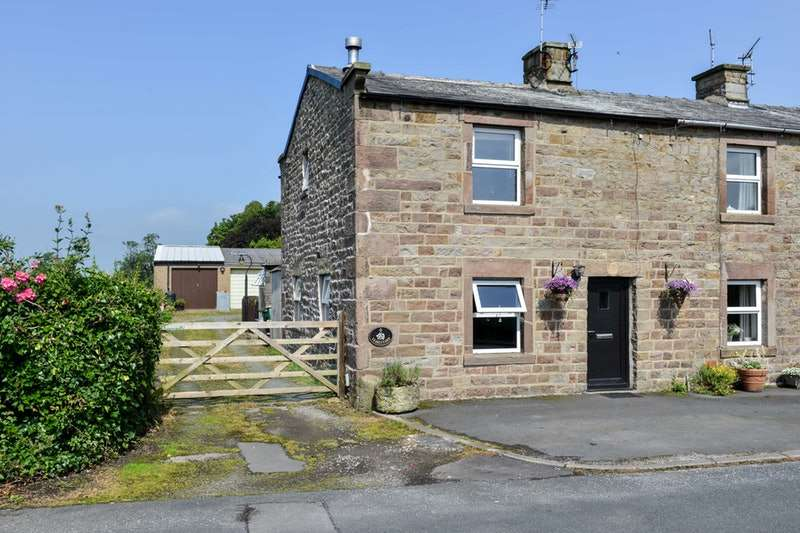 2 Bedrooms End Of Terrace House for sale in stableyard cottages, dolphinholme, Lancashire, LA2