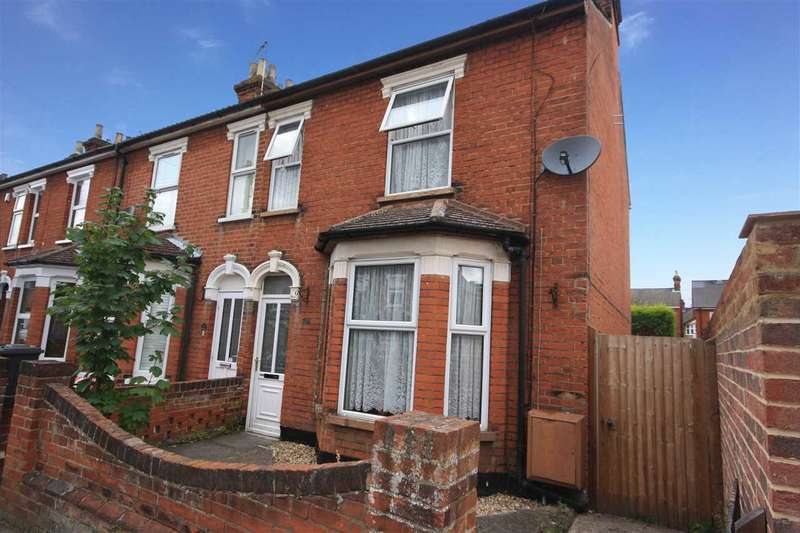 2 Bedrooms End Of Terrace House for sale in Kitchener Road, Ipswich