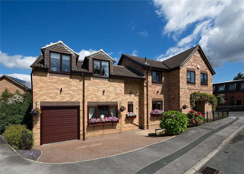 5 Bedrooms Detached House for sale in Horton Rise, Rodley, Leeds, West Yorkshire, LS13