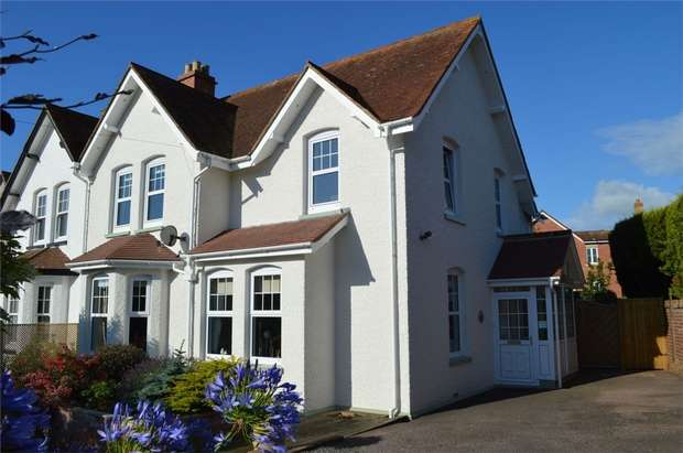 4 Bedrooms Semi Detached House for sale in 4 The Broadway, Exmouth