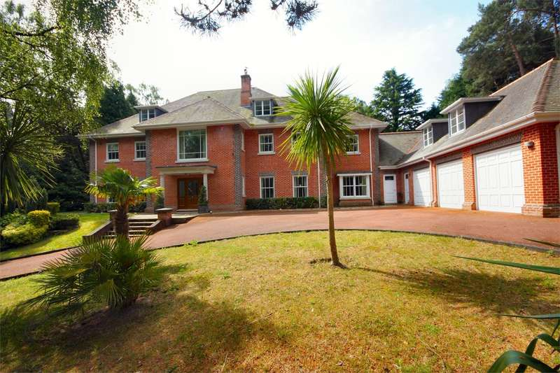 6 Bedrooms Detached House for sale in Western Avenue, Branksome Park, Poole, BH13