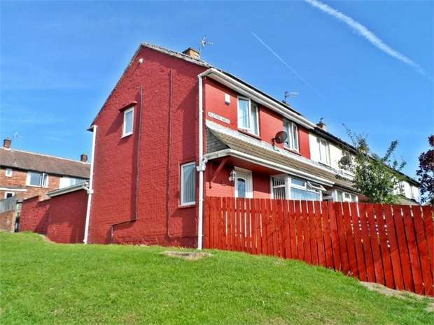 2 Bedrooms End Of Terrace House for sale in Alston Walk, Peterlee, Durham