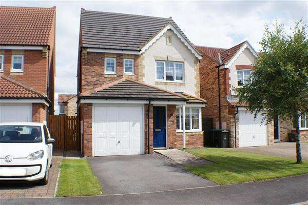 4 Bedrooms Detached House for sale in Harwood Close, Consett